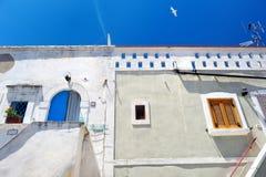 Picturesque narrow street of Peschici Royalty Free Stock Photos
