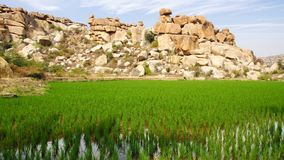 Picturesque nature landscape. Hampi, India Stock Images