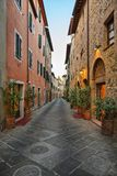 Picturesque nook of Tuscany Stock Images