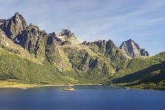 Picturesque Norway landscape, Lofoten Islands Stock Images