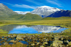 Picturesque Norway mountain landscape. Stock Photography