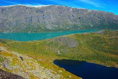 Picturesque Norway mountain landscape. Royalty Free Stock Photography