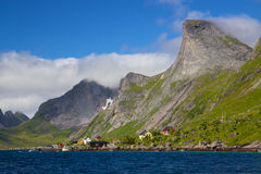 Picturesque norwegian panorama Royalty Free Stock Images