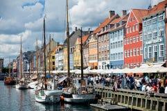 Free Picturesque Nyhavn In Copenhagen Stock Photos - 27748363