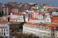 Picturesque Old City of Lisbon Royalty Free Stock Image