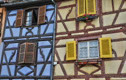 Picturesque old house in Colmar in Alsace Stock Photography