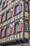 Picturesque old house in Colmar in Alsace Royalty Free Stock Images