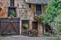 Picturesque old house in Colmar in Alsace Stock Images