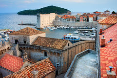Old Town of Dubrovnik Royalty Free Stock Image