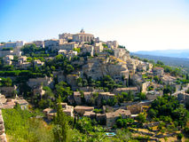 Hill Town in Provence Stock Photography