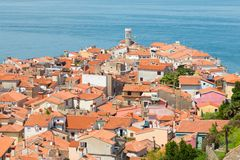 Picturesque old town Piran, Slovenia. Stock Images