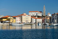 Picturesque old town Piran - Slovenia Royalty Free Stock Photos
