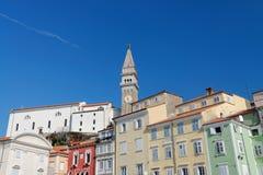 Picturesque old town Piran - Slovenia Stock Photo