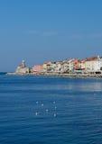 Picturesque old town Piran - Slovenia Stock Photos