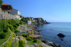 Picturesque Old town Sozopol Stock Photography
