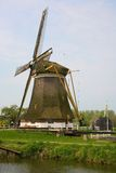 Picturesque old windmill in the Netherlands Royalty Free Stock Image