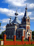 Picturesque Orthodox Church of the Assumption of the Blessed Vir Royalty Free Stock Photo