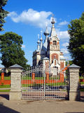 Picturesque Orthodox Church of the Assumption of the Blessed Vir Stock Photography