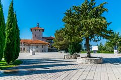 A picturesque Orthodox Old Temple in Trebinje. Bosnia and Herzegovina Stock Photos