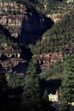 Picturesque Ouray Colorado Rocky Mountain Scenic View Stock Photo
