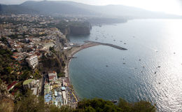 Picturesque panorama of the coast 10 Royalty Free Stock Photo