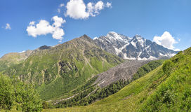 Picturesque panorama of the mountains of the North Caucasus Royalty Free Stock Images