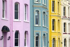 Free Picturesque Pembrokeshire - Colourful Homes Royalty Free Stock Photos - 116166938