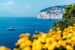 Picturesque Piano di Sorrento stock image