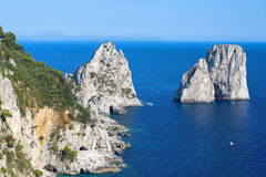 Picturesque places on Capri Royalty Free Stock Photography
