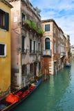Picturesque places of romantic Venice Stock Image