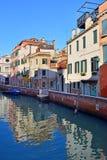 Picturesque places of romantic Venice Stock Images