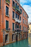 Picturesque places of romantic Venice Royalty Free Stock Photo