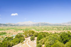 Picturesque plateau in Greece Stock Photography