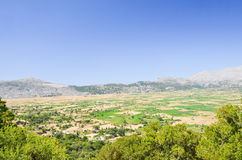 Picturesque plateau in Greece Stock Photos