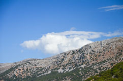 Picturesque plateau in Greece Royalty Free Stock Photo