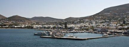 Picturesque Port, Paros, Greece Royalty Free Stock Image