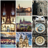 Picturesque Prague sights and landscapes Stock Image
