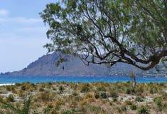 Plakias beach, landscape from Crete Stock Photo