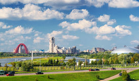 Picturesque region in the north-west of Moscow Royalty Free Stock Photography