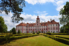 Picturesque renaissance chateau Royalty Free Stock Photography