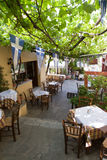 Picturesque Restaurant in Athens Royalty Free Stock Images