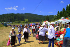 Picturesque Rhodope Mountains market Stock Photo