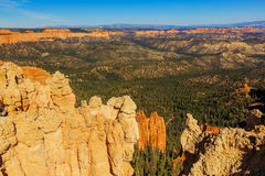 Picturesque rock formation. Bryce Canyon National Park. Utah, US. Picturesque rock formation. Bryce Canyon National Park. Utah, United States of America Royalty Free Stock Photo