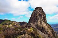 Picturesque rock Roque de Agando Royalty Free Stock Photography