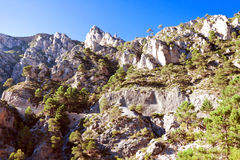 Picturesque rocks in province of Granada, Spain Stock Photography