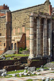 The picturesque ruins of Rome, Italy Royalty Free Stock Photography