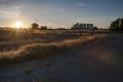 Picturesque rural landscape in California stock image