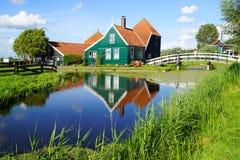Picturesque rural landscape. Zaandijk Royalty Free Stock Photography