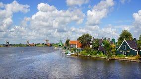 Picturesque rural landscape. Zaandijk Stock Image