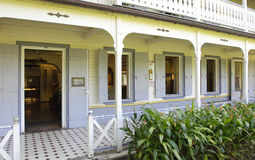 Picturesque Saint James distillery in Martinique Stock Photos